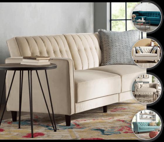 Reforma de sofá 2 lugares
