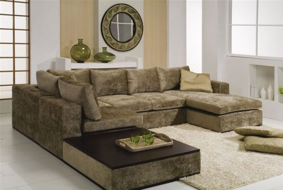 Reforma de sofá almofadas solta